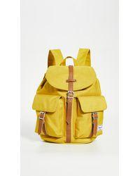 Herschel Supply Co. X-small Dawson Backpack - Yellow