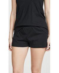 Natori Organic Cotton Shorts - Black