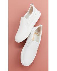 Sam Edelman Edna Slip On Sneakers - White