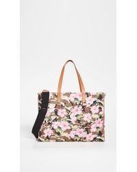Golden Goose Deluxe Brand California Hibiscus Camouflage Bag - Pink