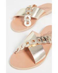 Ancient Greek Sandals Thais Links Slides - Multicolour