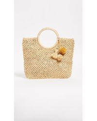 Hat Attack | Small Round Handle Bag | Lyst