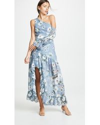 We Are Kindred Tabitha Asymmetrical Dress - Blue