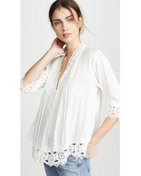 Tiare Hawaii Belle Mare Kimono - White