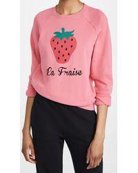 South Parade La Fraise Sweatshirt - Pink