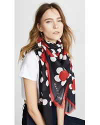 Marc Jacobs | Daisy Large Square Scarf | Lyst