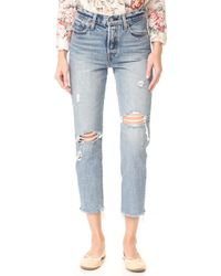 Levi's - Wedgie Selvedge Straight Jeans - Lyst