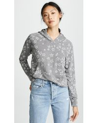 Sundry - Stars Cropped Hoodie - Lyst