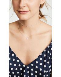 Gorjana - Chloe Necklace With Charm - Lyst