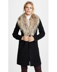 Sam. Crosby Wool Coat - Black