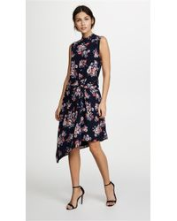 Ella Moon - Floral Tie Front Dress - Lyst
