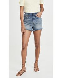 Madewell The Perfect Jean Shorts - Blue