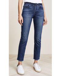 3x1   W4 Raw Edge Shelter Slim Jeans   Lyst