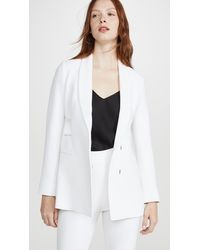 Cushnie - Shawl Collar Jacket With Double Charmeuse Band - Lyst