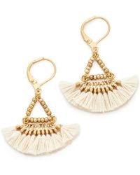 Shashi - Lilu Earrings - Lyst