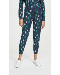 Chaser Holiday Sweatpants - Blue