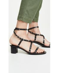Senso Lani Block Heel Sandals - Multicolor