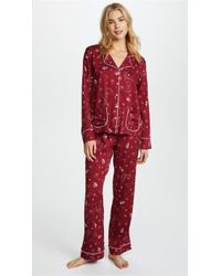 Splendid - X Vogue Long Sleeve Pj Set - Lyst