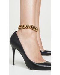 Zimmermann Chain Anklet - Metallic