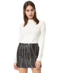 Alice + Olivia | Genova Fitted Sweater | Lyst