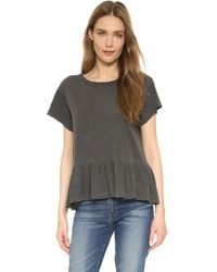 The Great - The Ruffle Tee - Lyst