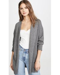 360 Sweater Ariana Cashmere Cardigan - Gray