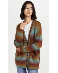 RE/DONE 90s Oversized Cardigan - Multicolour