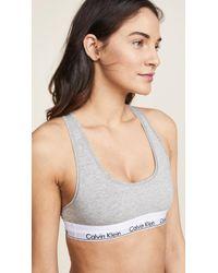 Calvin Klein - Modern Cotton Bralette - Lyst