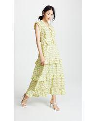 Banjanan - Cordelia Midi Dress - Lyst