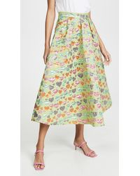 Tata Naka Full Skirt - Multicolour
