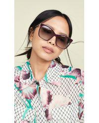 Fendi Classic Square Sunglasses - Multicolour