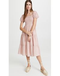 Peixoto Coco Midi Dress - Pink