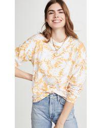 Sundry Floral Sweatshirt - Multicolour