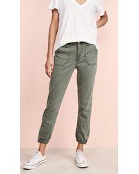 PAIGE Mayslie Sweatpants - Green