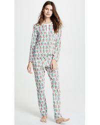 Roberta Roller Rabbit Monkey Mas Pyjamas - Green