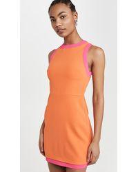 Alice + Olivia Truly Dress - Orange