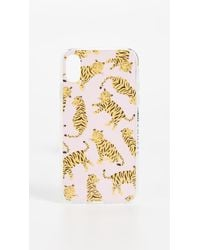 Pink Tiger Iphone Xs Max Case - Multicolour