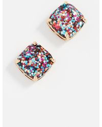 Kate Spade Small Square Stud Earrings - Multicolour