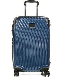 Tumi Latitude International Slim Carry-on Suitcase 55cm - Blue