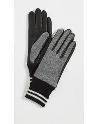 Rag & Bone Ski Gloves - Black