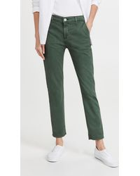 AG Jeans Caden Trousers - Green