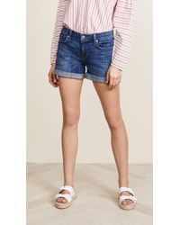 7 For All Mankind - Mid Roll Short - Lyst