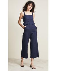 Sea - O'keefe Quilted Corset Jumpsuit - Lyst