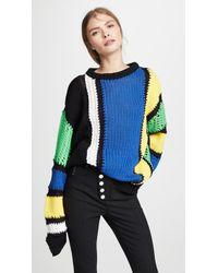 Koche - Striped Sweater - Lyst