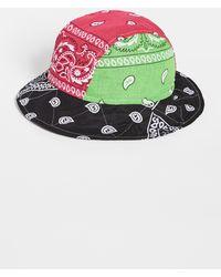 ARIZONA LOVE Bandana Bob Mixed Green Bucket Hat