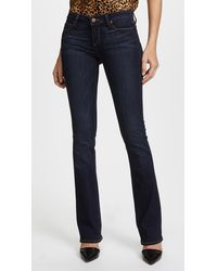 PAIGE Transcend Manhattan Boot Cut Jeans - Blue