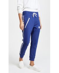 Baja East - Embroidered Joggers - Lyst