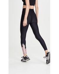 Heroine Sport Flame Leggings - Black