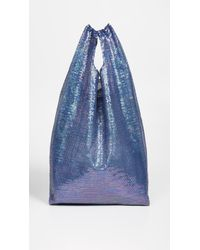 Ashish Large Sequin Shopper - Blue