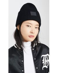 Acne Studios Pansy N Face Hat - Black
